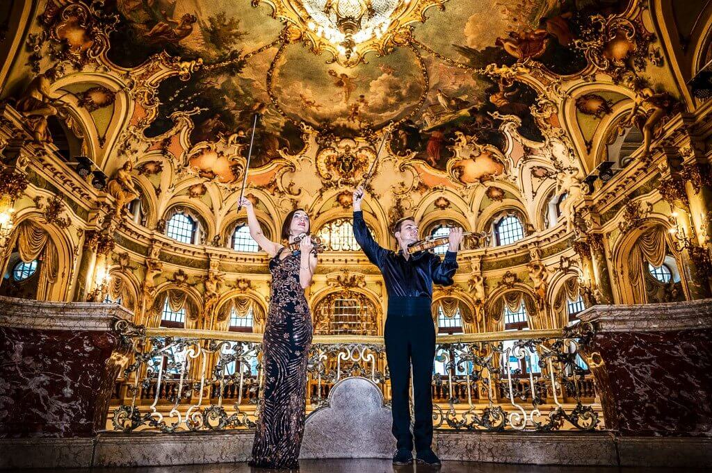 Duet skrzypcowy Orkiestra na dwoje skrzypiec